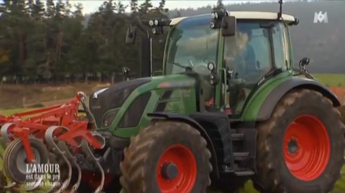 Balade en tracteur pour Philippe l'Auvergnat et Muriel