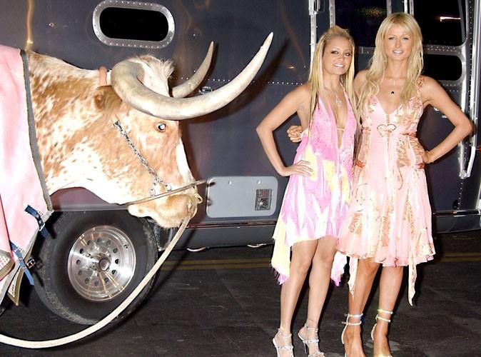 les it-girls dans le champ des vaches !