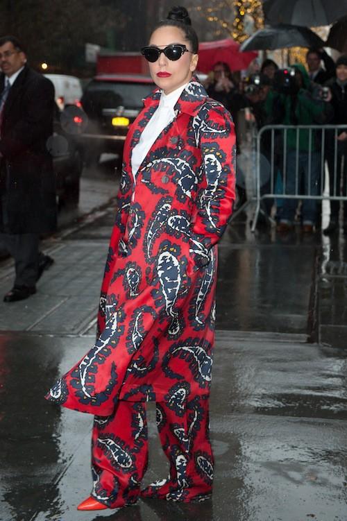 Le costume façon pyjama, tendance