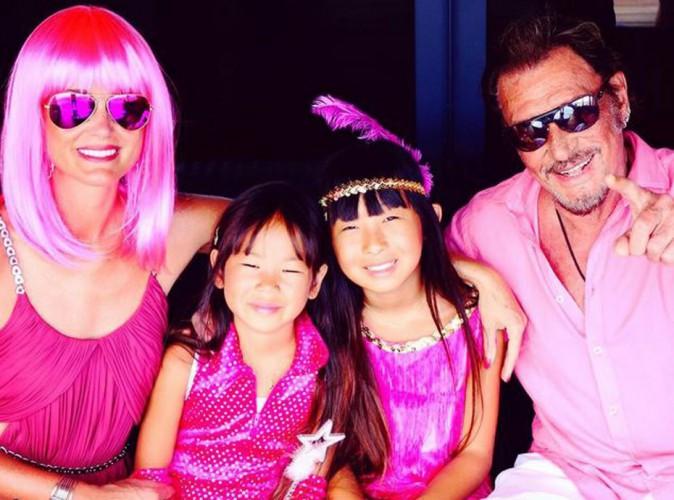 La famille Hallyday en vacances à Saint-Barth
