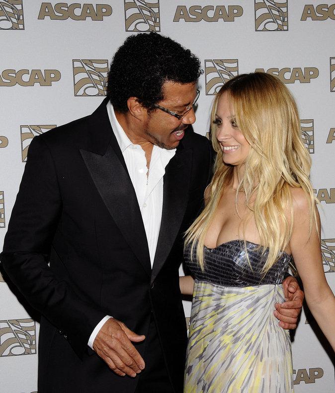Lionel et Nicole Richie