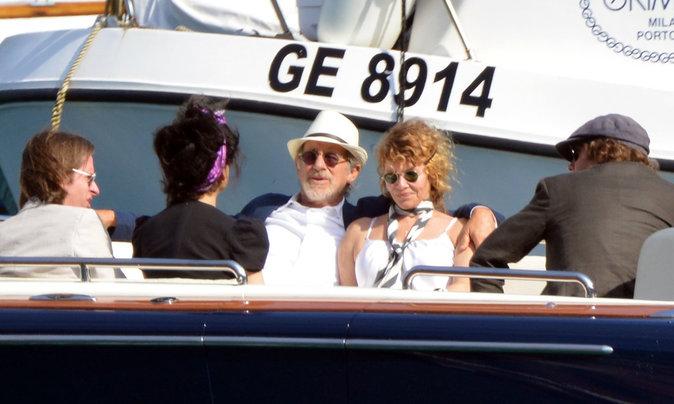 Steven Spielberg en famille