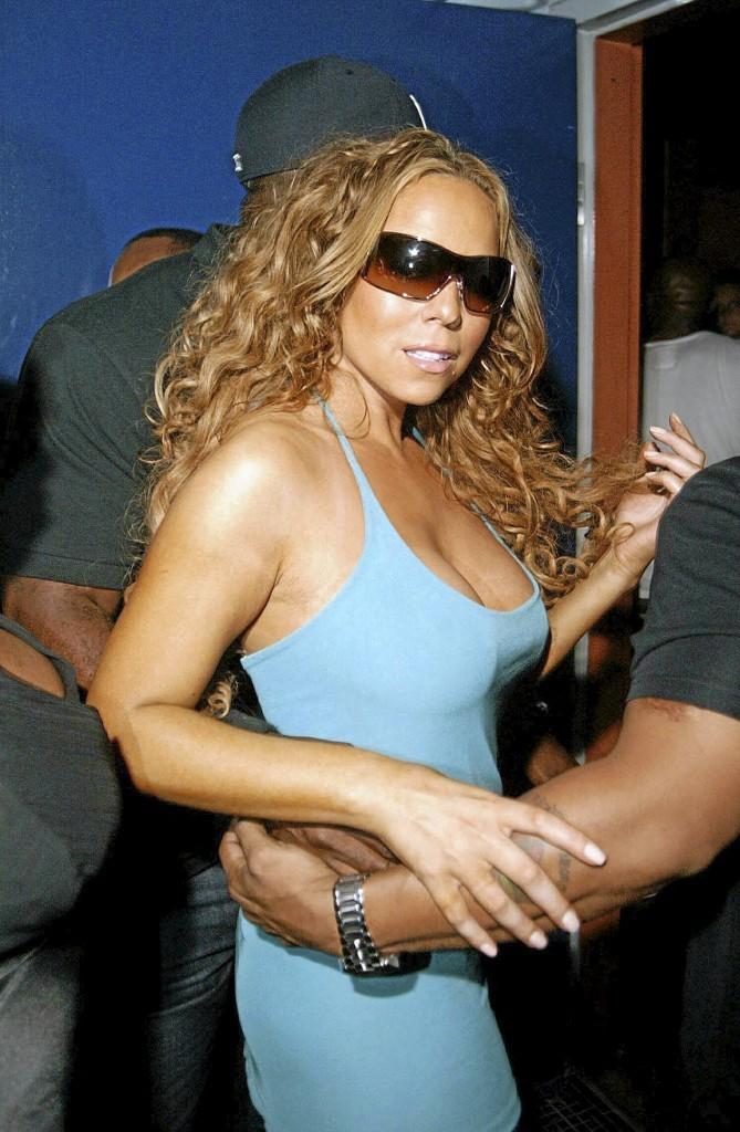 Mariah Carey, un préposé aux chewing-gums !