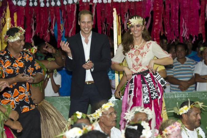 céremonie en leur honneur sur l'archipel polynésien