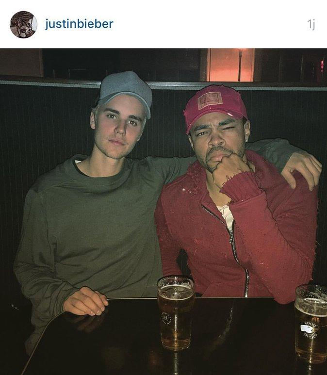 Justin et son ami Brandon