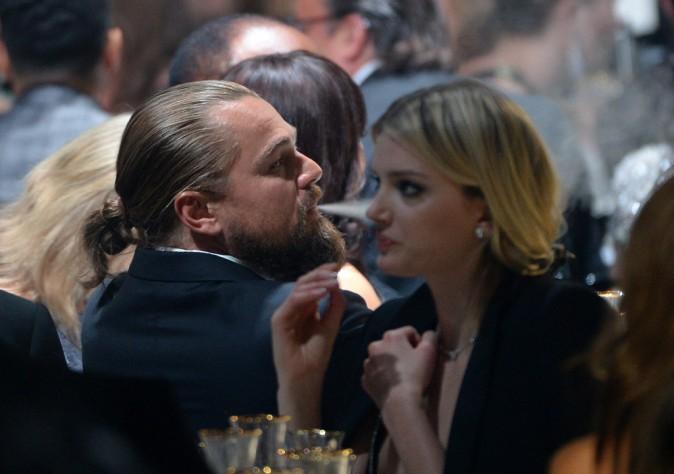 Leonardo DiCaprio au gala de l'amfAR le 21 mai 2015