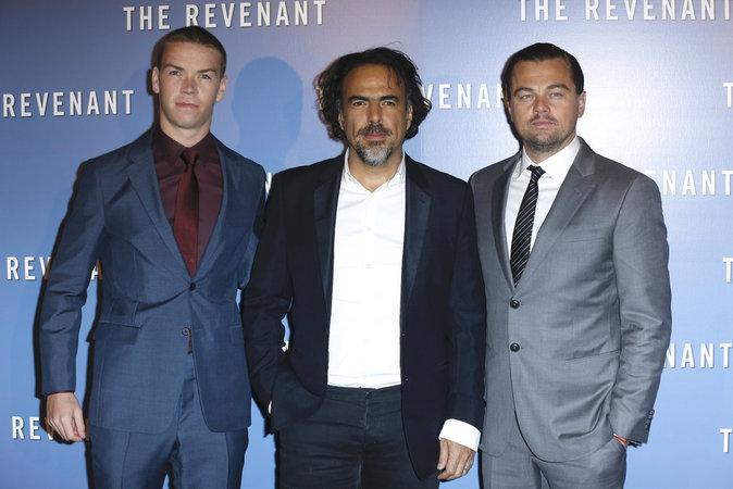 Leonardo Dicaprio Will Poulter, Alejandro G. Inarritu