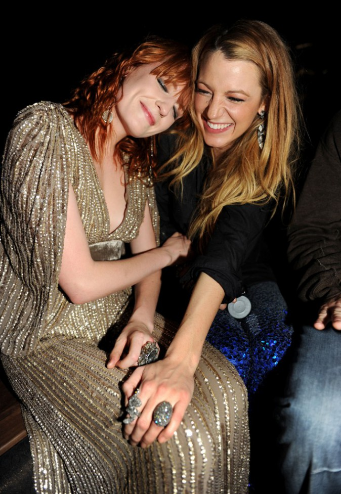 Florence Welch et Blake Lively