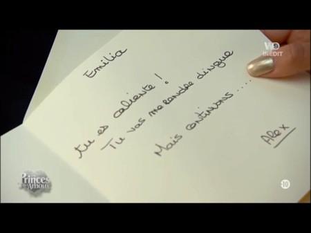 La lettre d'Alexandre !