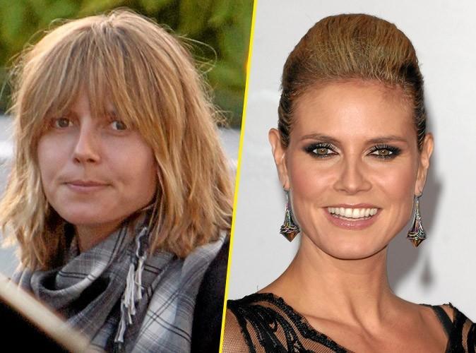 Star sans maquillage : Heidi Klum