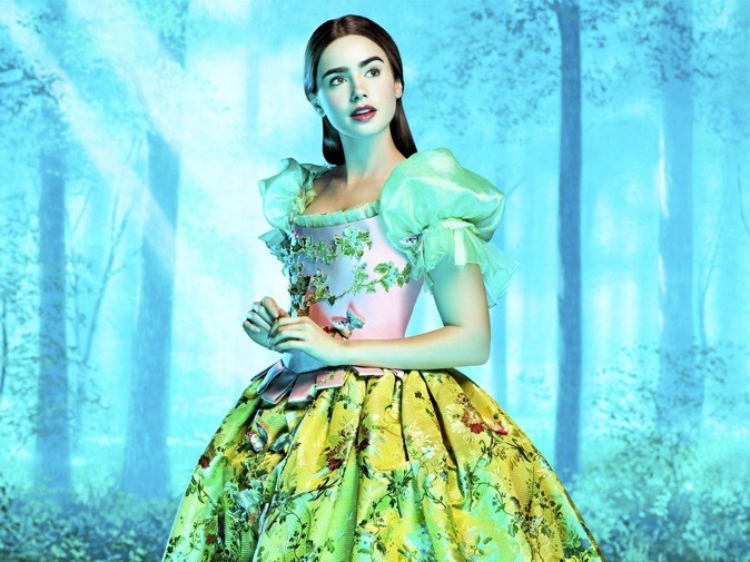 "Lily Collins dans ""Blanche-Neige"" !"