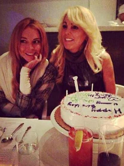 Lindsay Lohan et sa mère Dina !