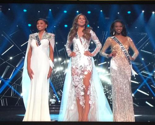 Les trois finalistes!