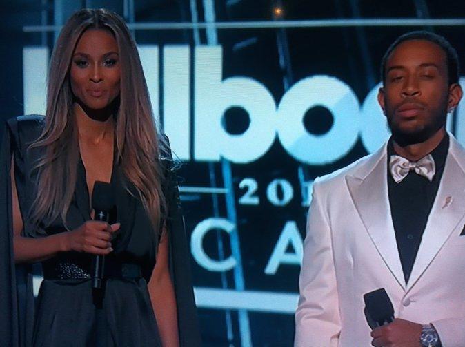 Ciara et Ludacris, présentateurs de la soirée au top!