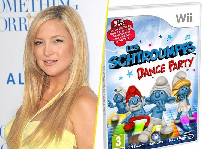 Kate Hudson : on lui conseille Les Schtroumpfs : Dance Party
