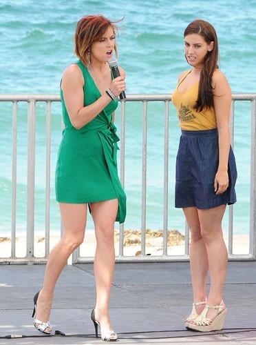 Erin et Adriana en représentation