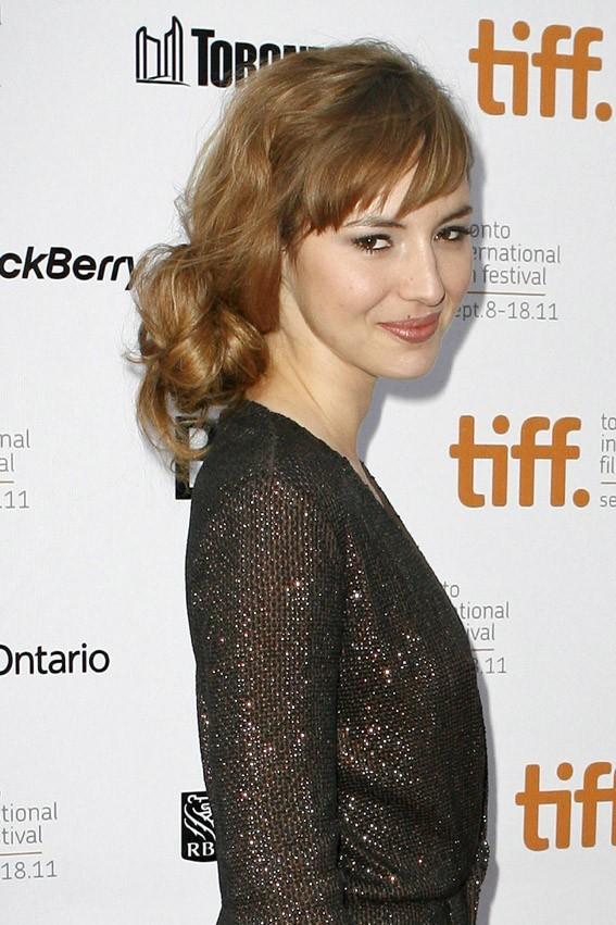 Louise Bourgoin lors du Festival du Film de Toronto, le 15 septembre 2011.