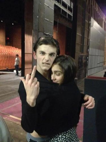 Lourdes Leon et son amoureux Timothee Chamalet.