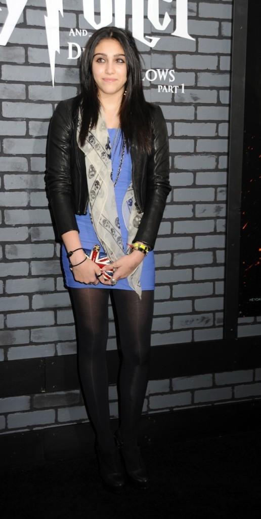 Lourdes Leon à la première d'Harry Potter à Londres !