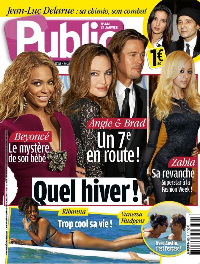 Angelina Jolie, Beyoncé et Zahia en couv !