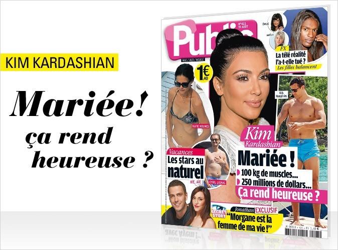 Magazine Public : Kim Kardashian, la future mariée, en couv !