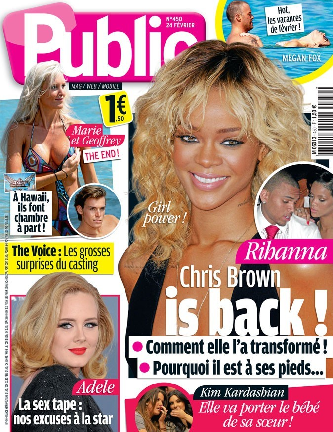 Rihanna : Chris Brown is back !