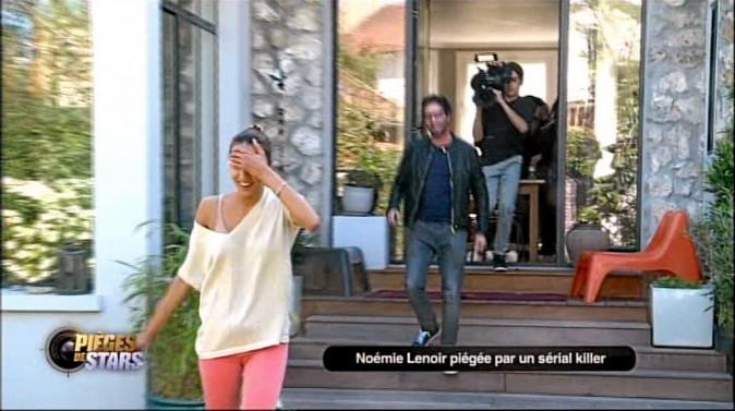 Manu Levy : C'est une caméra cachée ! Viens par ici ! N. L. : Franchement, j'y ai cru ! Vous êtes des malades !