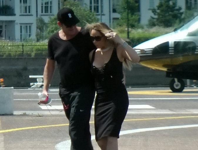 Mariah Carey et son fiancé