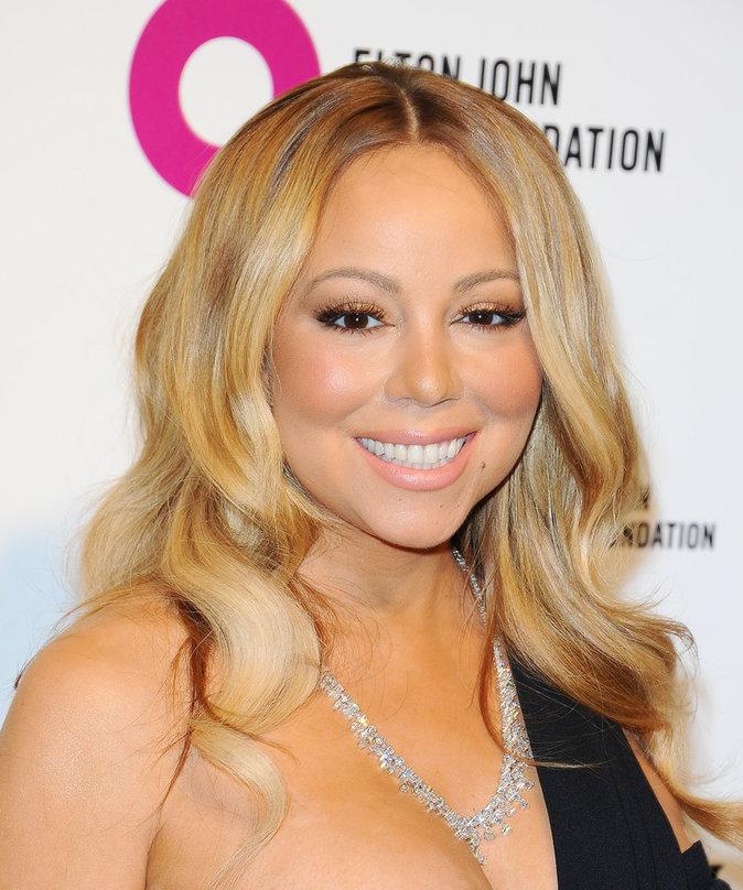 Mariah Carey avait un sourire radieux à la soirée Elton John AIDS Foundation