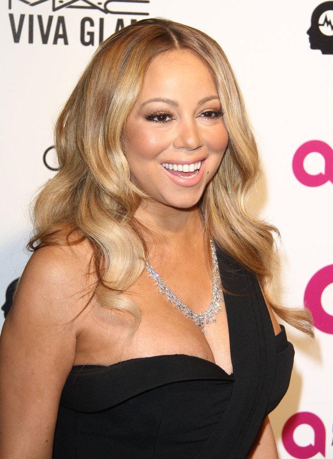 Mariah Carey ne passe pas inaperçu