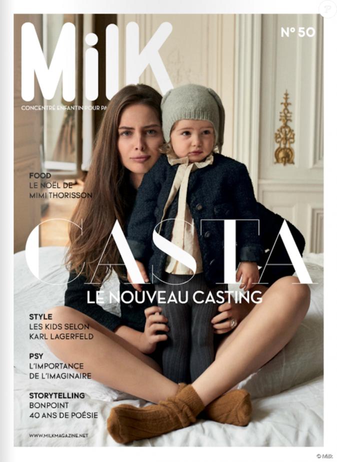 Marie-Ange Casta : elle nous présente sa fille de deux ans