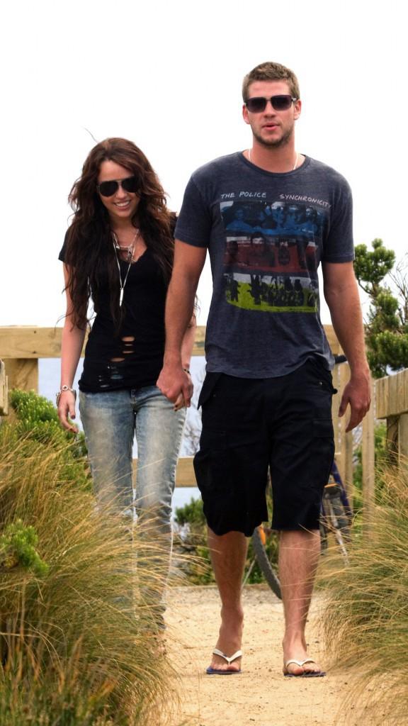 En janvier 2010 en vacances en Australien, les premières images du couple !