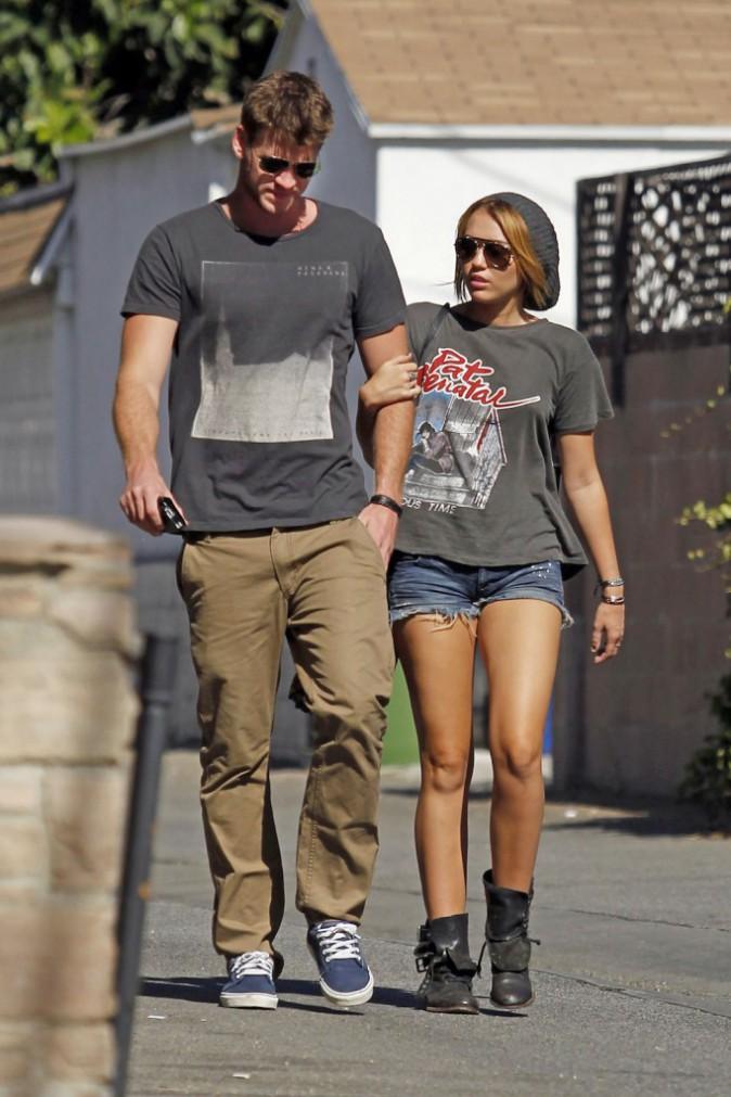 Le 20 août 2011 à Los Angeles, le couple en virée shopping