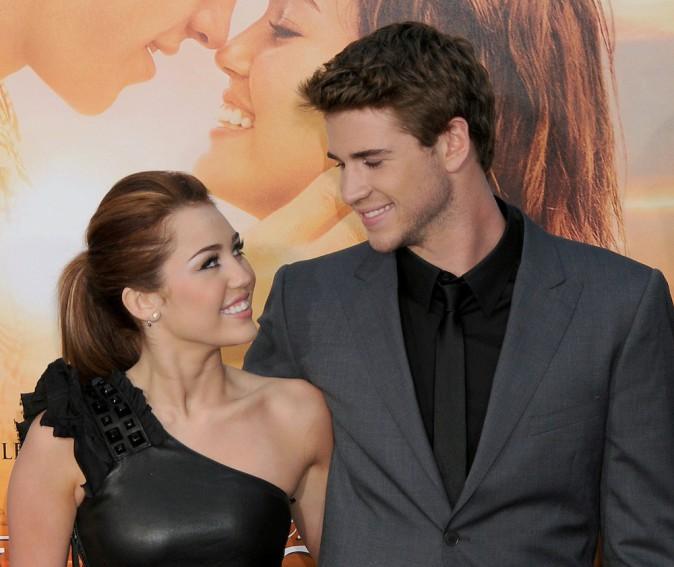 Le couple à l'avant-première de leur film The Last Song, le 25 mars 2010 à Los Angeles