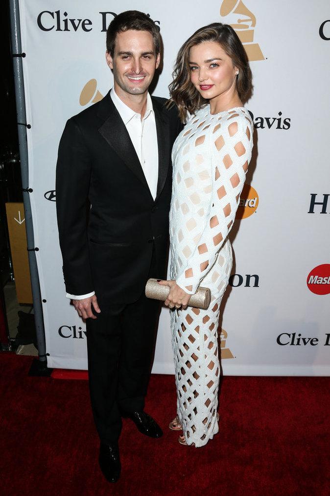 Miranda Kerr s'est fiancée à son amoureux milliardaire, Evan Spiegel !