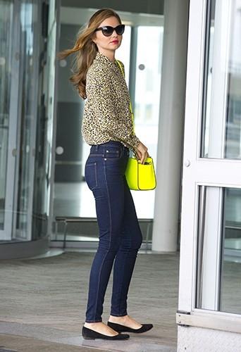 Miranda Kerr à New-York le 14 juin 2013