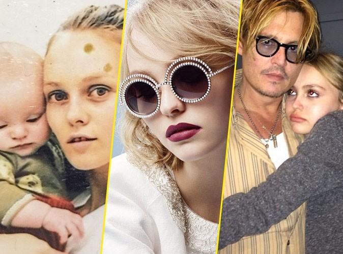 """Montre-moi ton Insta, je te dirai qui tu es : Lily-Rose Depp, """"fille de"""" en pleine ascension !"""
