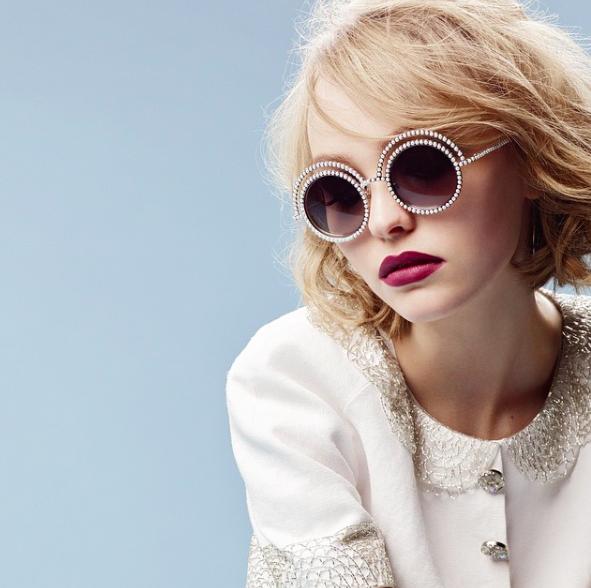 Lily-Rose Depp x Chanel