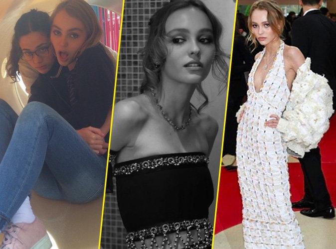 Montres-moi ton Insta, je te dirais qui tu es : Lily-Rose Depp: d'adolescente rebelle à égérie Chanel !