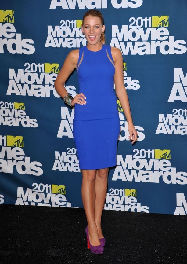 Blake Lively lors de la cérémonie des MTV Movie Awards 2011, à Universal City, le 5 juin 2011.