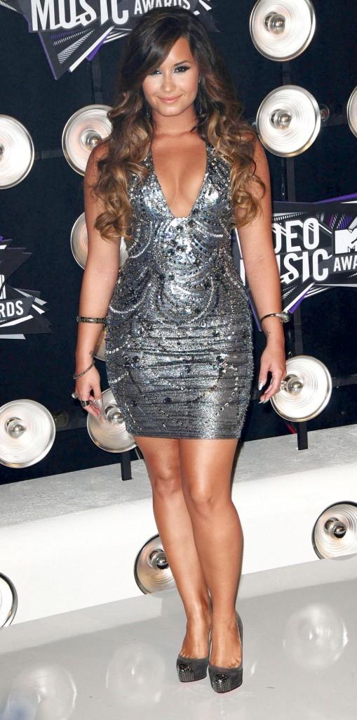 VMA 2011: Demi n'est vraiment pas à son avantage !