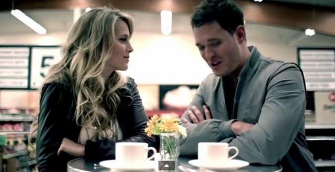 """Couples stars en vidéo : Luisana Lopilato et Michael Bublé pour le titre """"Haven't Met You Yet"""""""