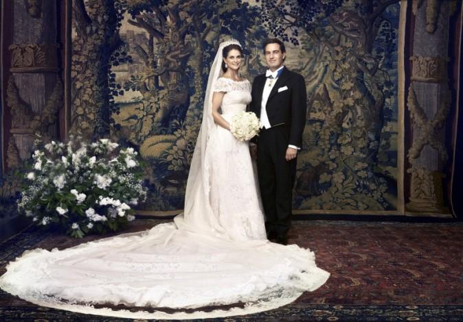 La princesse Madeleine de Suède s'est mariée !