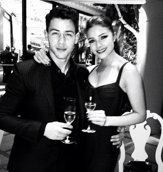 Nick Jonas et Olivia Culpo