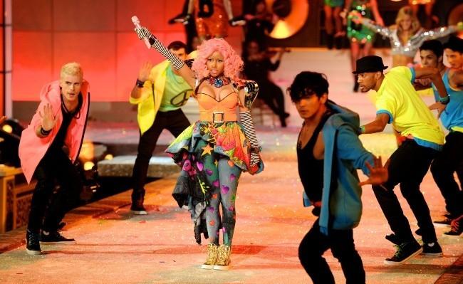 Nicki Minaj lors du Victoria's Secret Fashion Show à New York, le 9 novembre 2011.