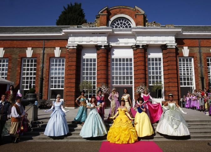 L'événement Raiponce organisé par Disney à Londres, le 2 octobre 2011.