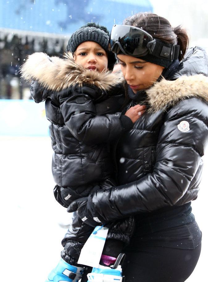 Kim Kardashian et North West