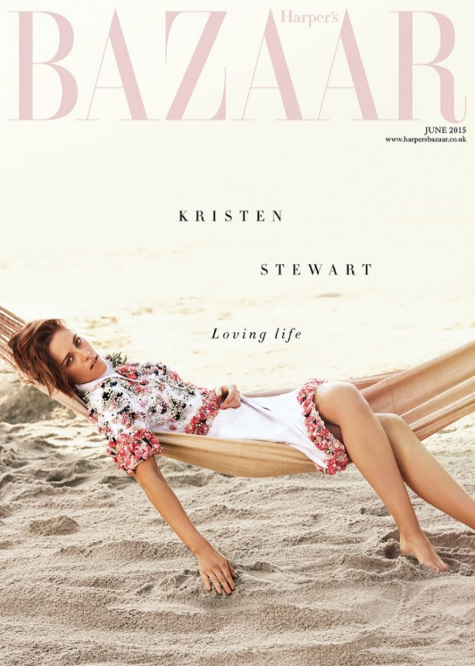 Photos : Kristen Stewart transformée en baby dolls poétique pour Harper's Bazaar UK !