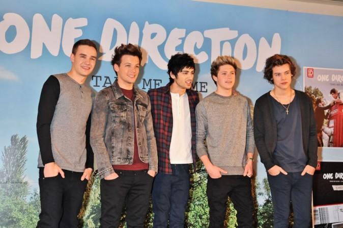 Les One Direction le 18 janvier 2013 à Tokyo