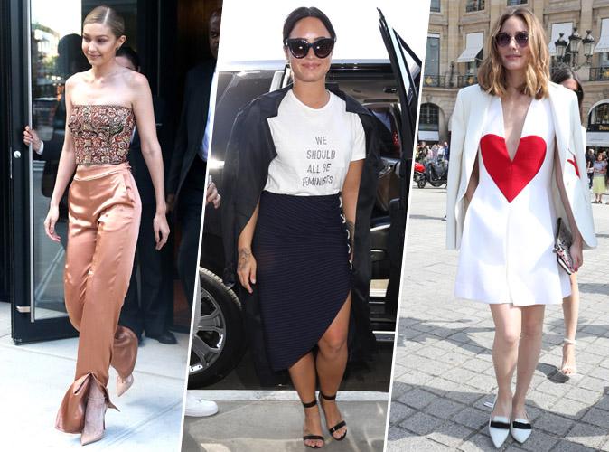 Palme Fashion : Gigi Hadid, Demi Lovato, Olivia Palermo... Qui a été la plus stylée cette semaine ?